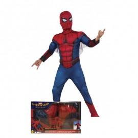Costume da Spiderman con Maschera per Bambini