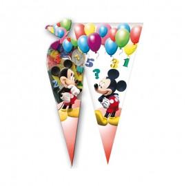 10 Sacchetti Mickey per Caramelle forma Cono