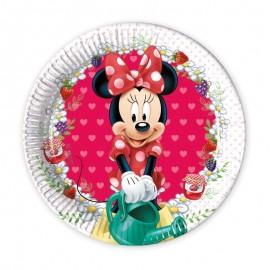 8 Piatti Minnie 20 cm