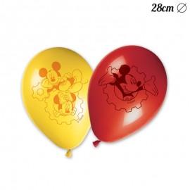 8 Palloncini Topolino 28 cm
