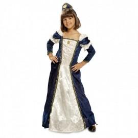 Costume da Dama Medievale Per Bambini