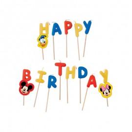 Candele Happy Birthday Topolino