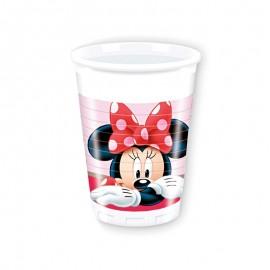 8 Bicchieri Minnie 200 ml