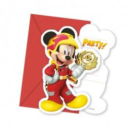 6 Inviti Mickey Pilota