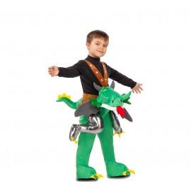 Costume da Drago delle Montagne Ride-On per Bambini