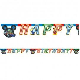 Festone Topolino Pilota Compleanno