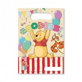 6 Borse per Caramelle Winnie the Pooh