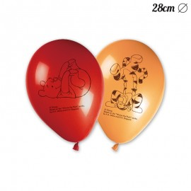 8 Palloncini Winnie the Pooh 28 cm