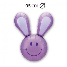 Palloncino Coniglio con Sorriso 95 cm