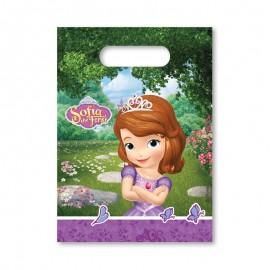 6 Sacchetti Principessa Sofia per Caramelle