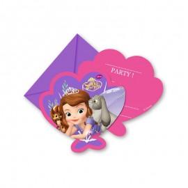 6 Inviti Principessa Sofia