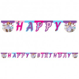 Festone Happy Birthday Principessa Sofia