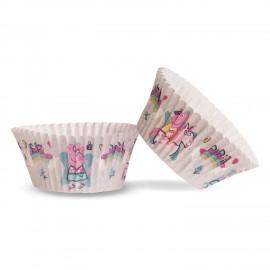 50 Pirottini Peppa Pig per Cupcake