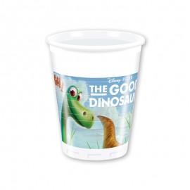 8 Bicchieri Dinosauri 200 ml