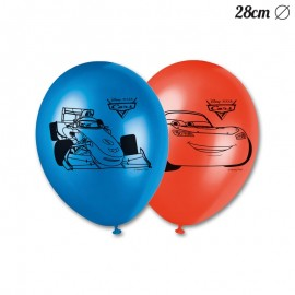 8 Palloncini Cars 28 cm