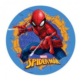 Disco Cialda per Torta Spiderman 20Cm