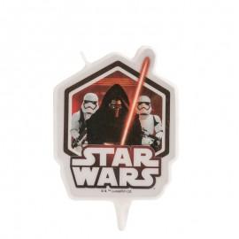 Candela 2D per Compleanno Star Wars 7,5 Cm