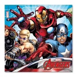 20 Tovaglioli The Avengers 33 cm
