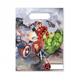 6 Sacchetti per Caramelle The Avengers
