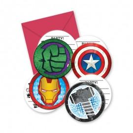 6 Inviti The Avengers