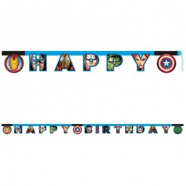 Festone The Avengers Happy Birthday