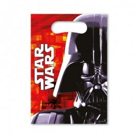 6 Sacchetti per Caramelle Star Wars