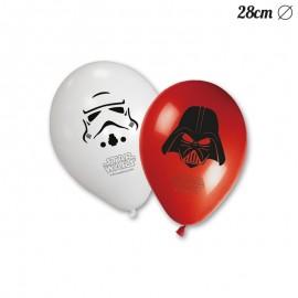 8 Palloncini Star Wars 28 cm