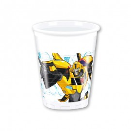 8 Bicchieri Transformers 200 ml
