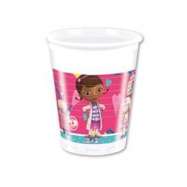 8 Bicchieri Dottoressa Peluche 200 ml