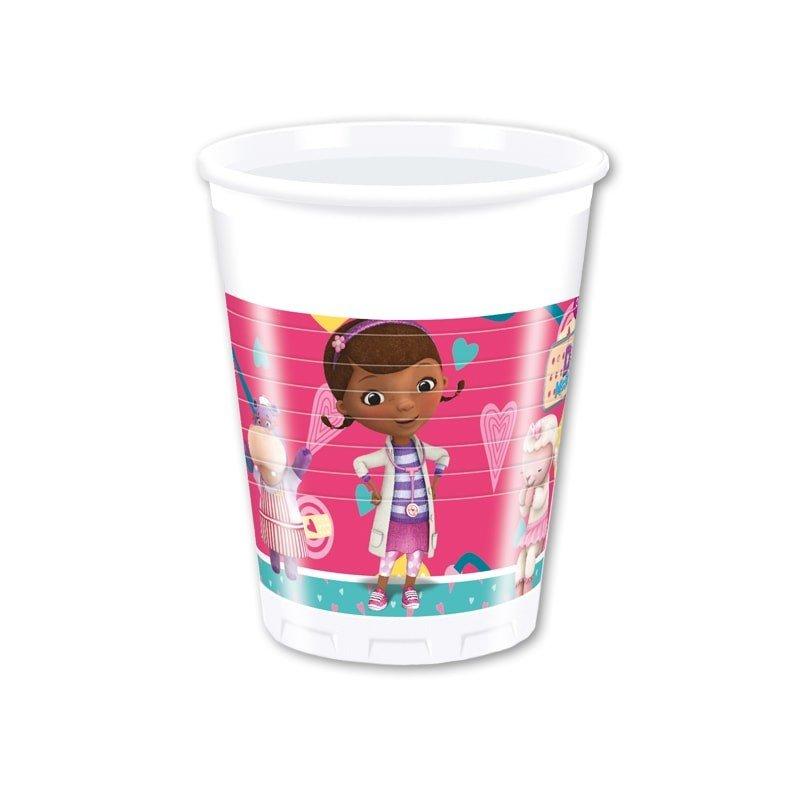 bicchiere dottoressa peluche con manico