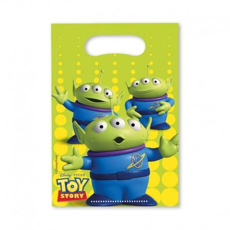 6 Sacchetti per Caramelle Toy Story
