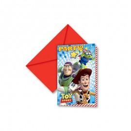 6 Inviti Toy Story