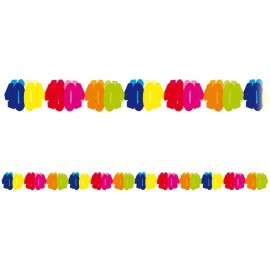 Festone di carta numero 40 multicolor 6 m