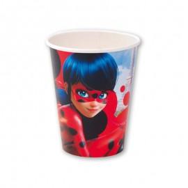 8 Bicchieri Ladybug 266 ml
