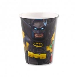 8 Bicchieri Lego Batman 266 ml