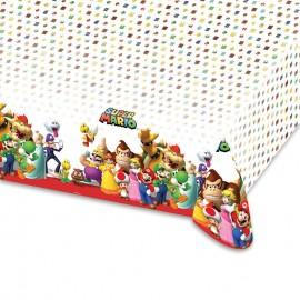 Tovaglia di plastica Mario Bros 120 x 180 cm