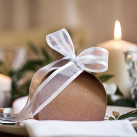 10 Scatole Kraft per Matrimonio