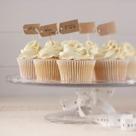 12 Topper per Cupcake di Kraft