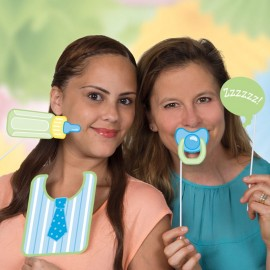 10 Accessori per Photo Booth Baby Shower