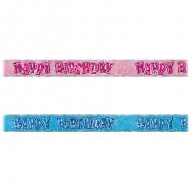 Cartello Happy Birthday