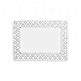 10 Centrini di Carta Rettangolari 18 x 25 cm