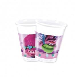 8 Bicchieri Trolls 200 ml