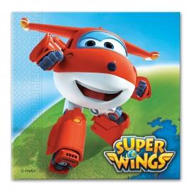 20 Tovaglioli Super Wings 33 cm