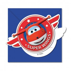 6 Inviti Super Wings