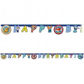 Festone Happy Birthday Super Wings