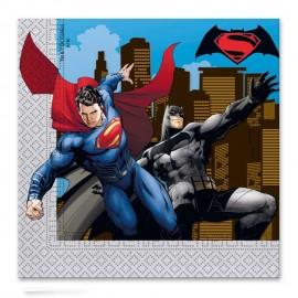 Tovaglioli SuperMan 33 cm