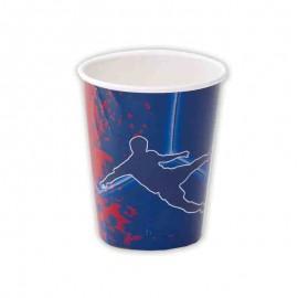 8 Bicchieri FC Barcelona 266 ml