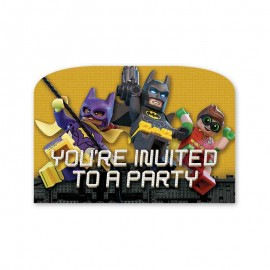 6 Inviti Lego Batman