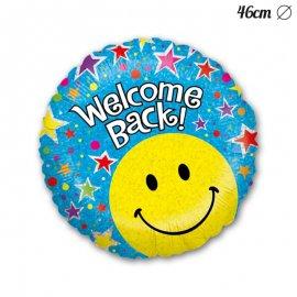 Palloncino Welcome Back Smile Foil Rotondo 46 cm