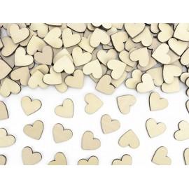 Cuori di legno 2 cm